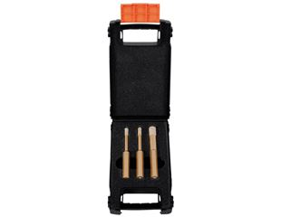 Dry diamond drill bit set , 3-piece