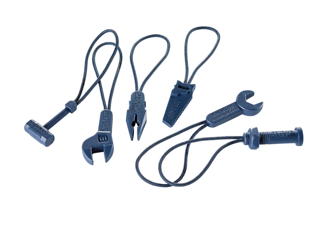 Accessories: Lynlåsflapper pakke e.s.motion 2020 + havblå