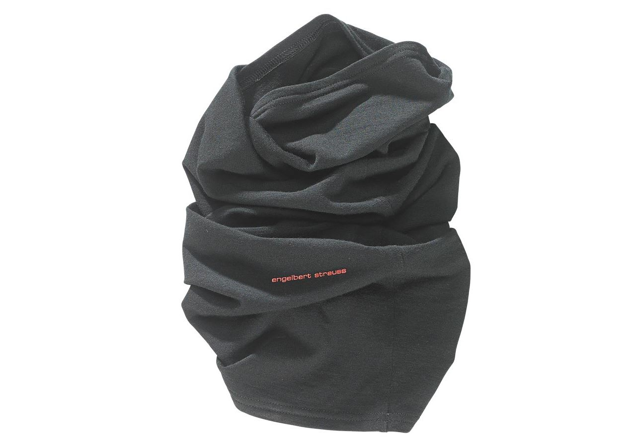 Accessories: e.s. Multifunctional scarf + black