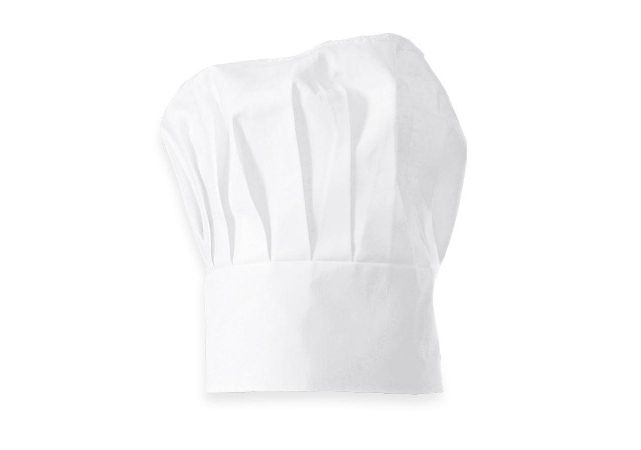 Accessories: Cotton Chefs Hats + white