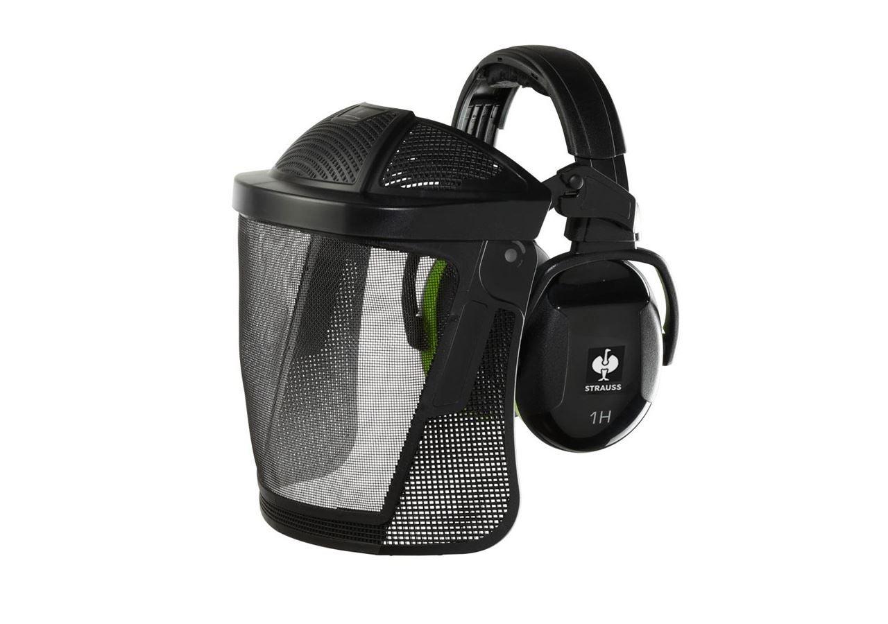 Kapselhorevaern: Kombination af ansigtsbeskyttelse og høreværn
