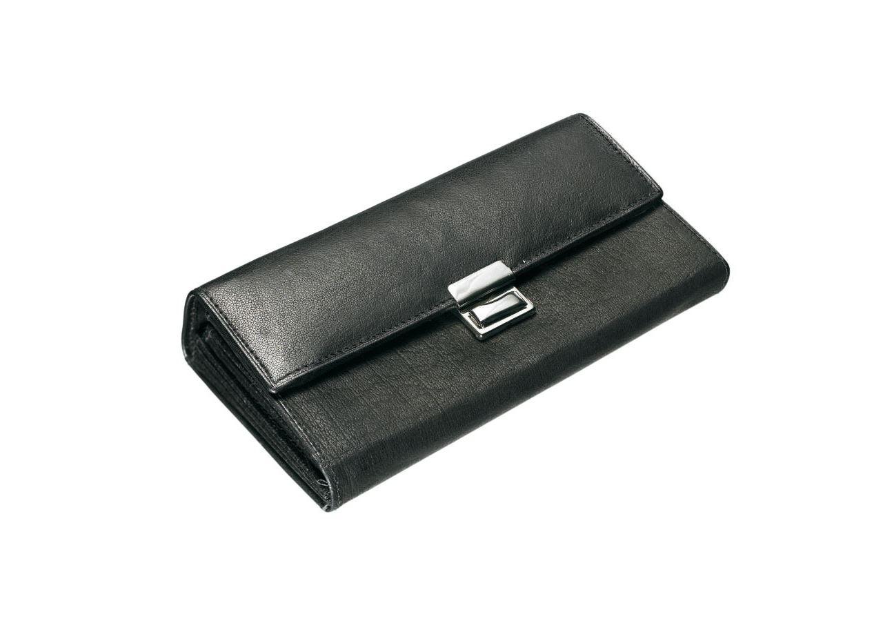 Accessories: Waiter's purse + black