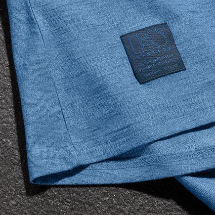 Shirts, Pullover & more: T-shirt e.s.vintage, ladies' + arcticblue melange 3