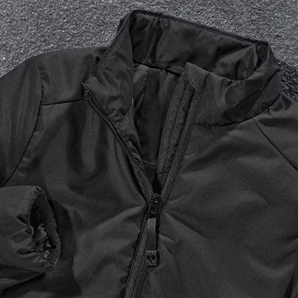 Jackets: e.s. Padded jacket CI, children's + black 2