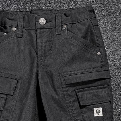 Trousers: Cargo trousers e.s.vintage, children's + black 2