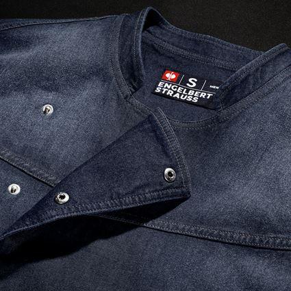 T-Shirts, Pullover & Skjorter: e.s. Kokkejakke denim + mediumwashed 2