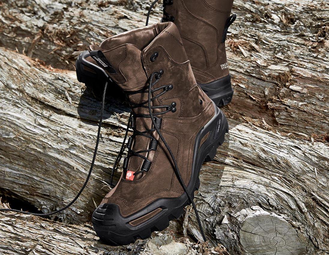 S3: e.s. S3 sikkerhedsstøvler Nembus high + bark