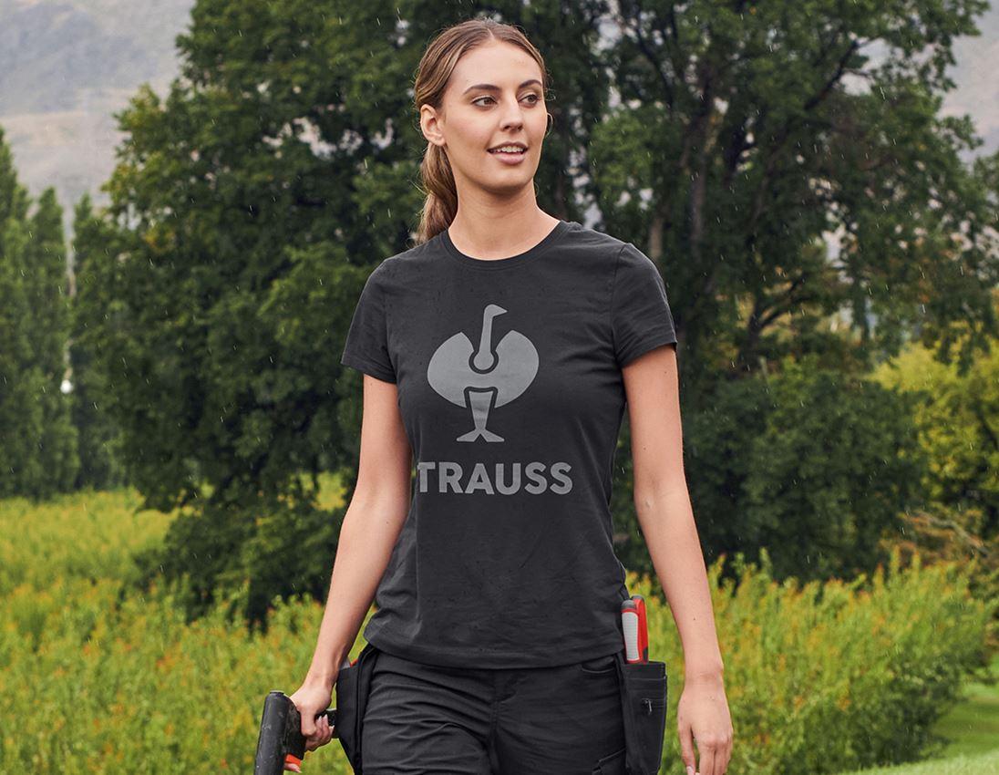 Shirts, Pullover & more: T-Shirt, e.s.concrete, ladies' + black