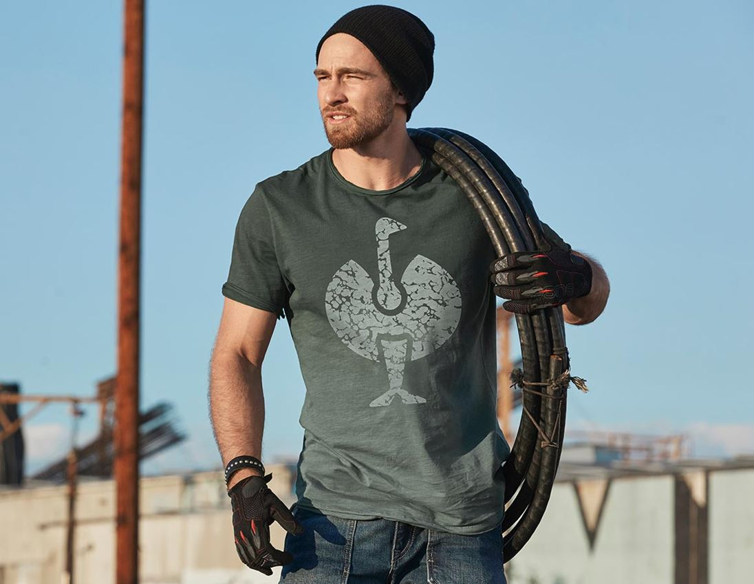 Shirts, Pullover & more: e.s. T-Shirt workwear ostric + disguisegreen vintage