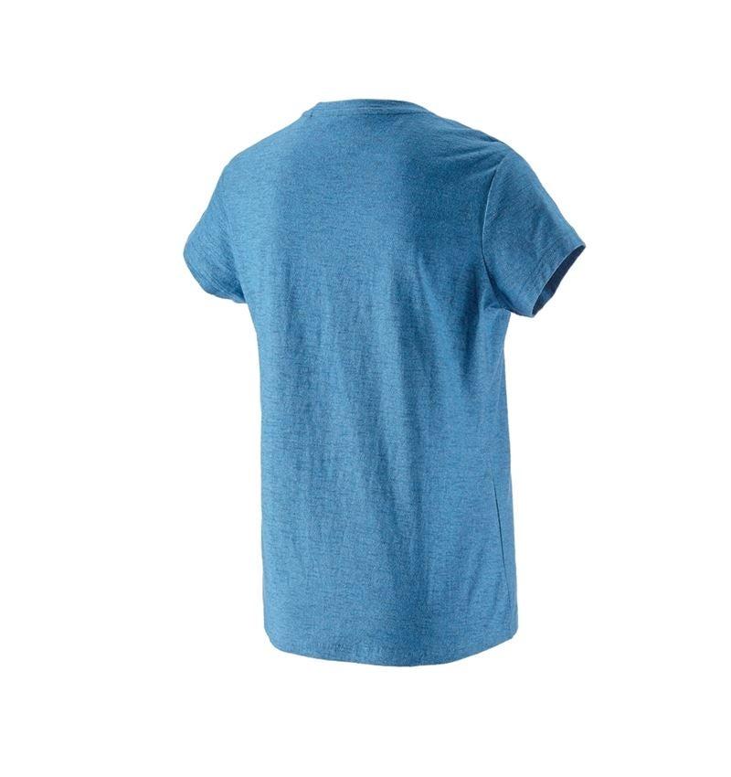 Shirts, Pullover & more: T-shirt e.s.vintage, ladies' + arcticblue melange 2