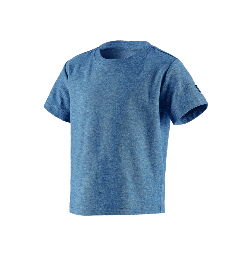 Shirts, Pullover & more: T-Shirt e.s.vintage, children's + arcticblue melange