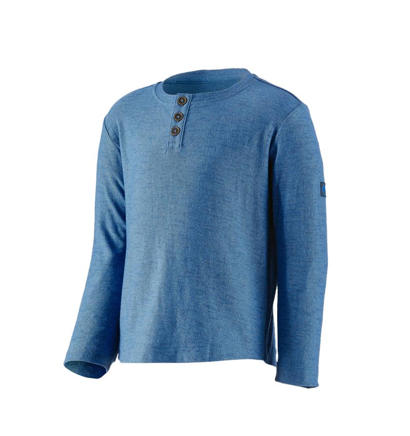 Shirts, Pullover & more: Long sleeve e.s.vintage, children's + arcticblue melange