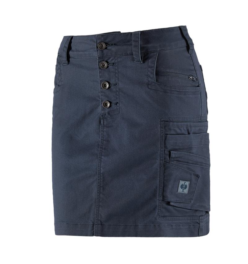 Kjoler   Nederdele: Nederdel e.s. motion ten, damer + skifferblå
