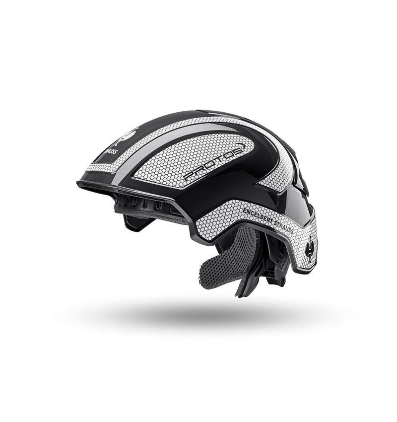 Hard Hats: e.s. Work helmet Protos® + black/white