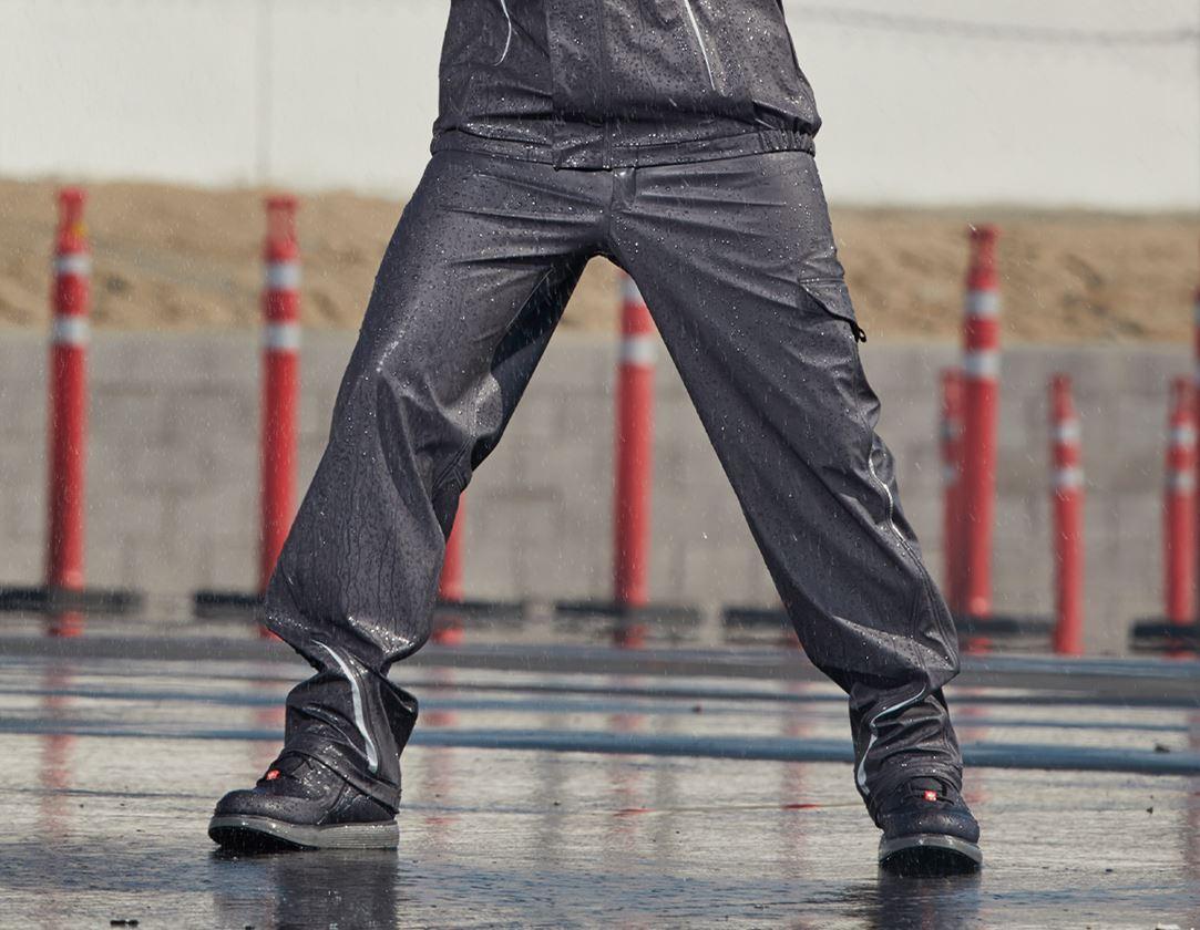 Arbejdsbukser: Regntaljebukser e.s.motion 2020 superflex + antracit/platin