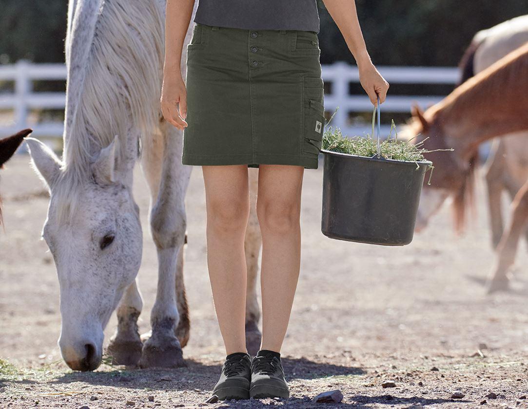 Dresses & Skirts: Skirt e.s.motion ten, ladies' + disguisegreen