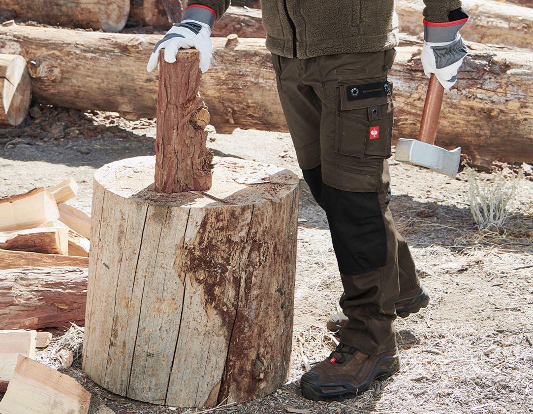 Arbejdsbukser: Bukser e.s.roughtough + bark