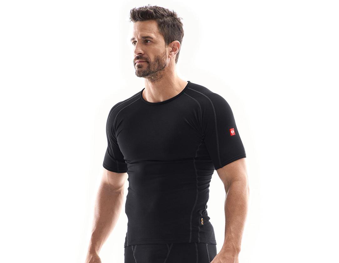 Underwear | Functional Underwear: e.s. functional-t-shirt clima-pro - warm, men's + black