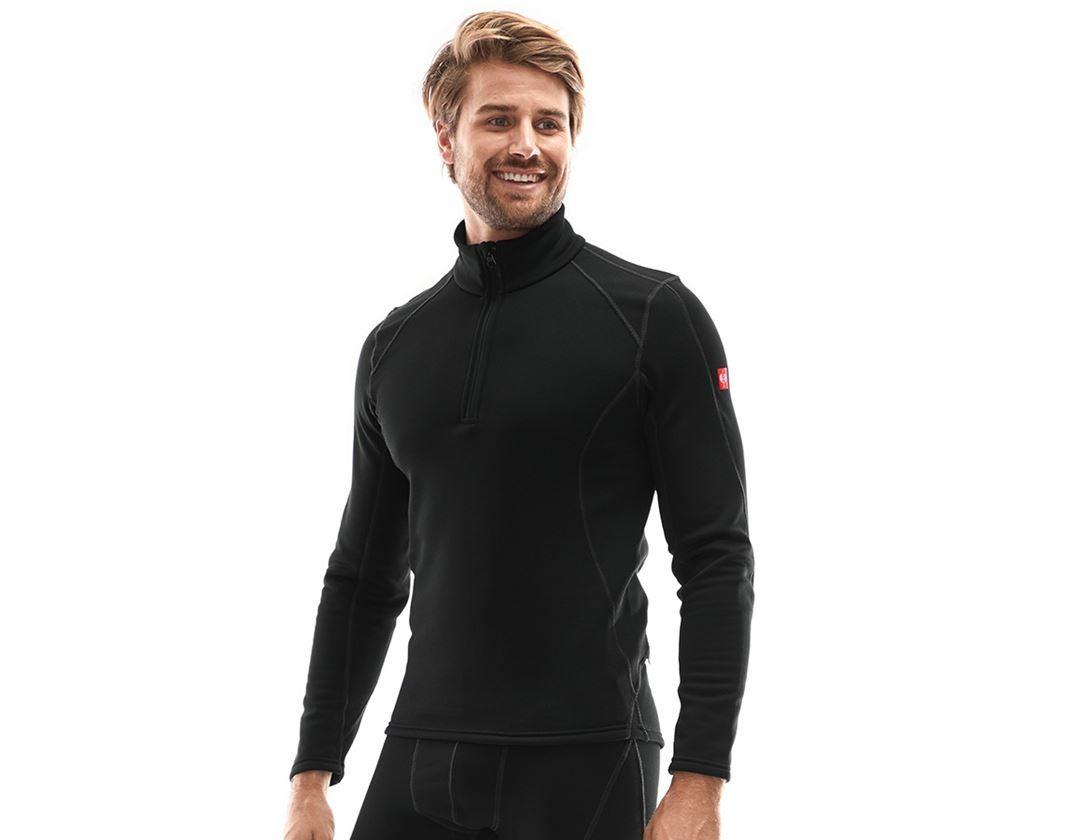Underwear   Functional Underwear: e.s. functional-troyer thermo stretch - x-warm + black