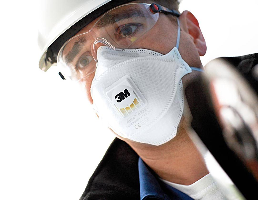 Respirators: 3M Respirator Aura 9332+ FFP3 NR D