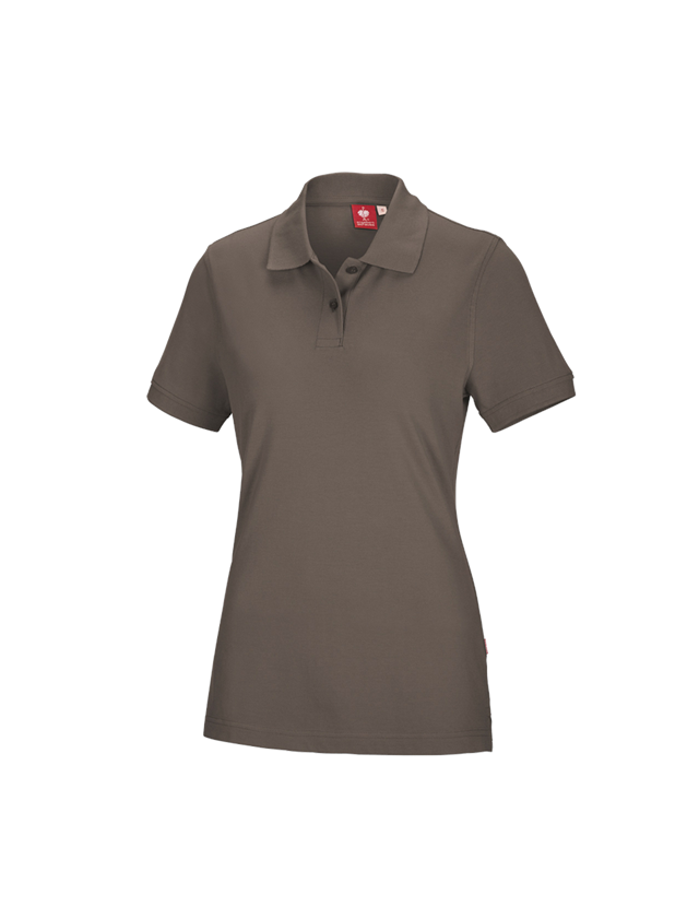 T-Shirts, Pullover & Skjorter: e.s. Polo-Shirt cotton, damer + sten
