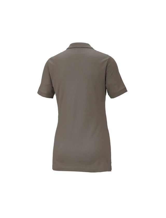 Shirts, Pullover & more: e.s. Pique-Polo cotton stretch,ladies' + stone 2