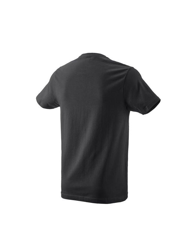 T-Shirts, Pullover & Skjorter: e.s. T-shirt 1908 + sort/hvid 1