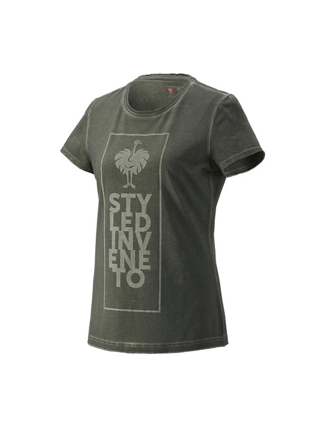 Shirts, Pullover & more: T-Shirt e.s.motion ten veneto, ladies' + disguisegreen vintage