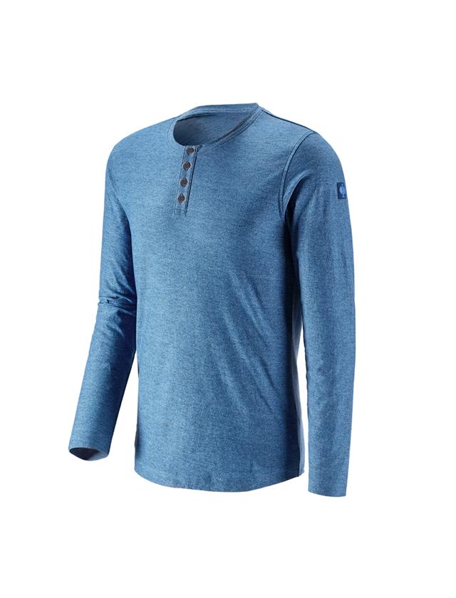 T-Shirts, Pullover & Skjorter: Longsleeve e.s.vintage + aktikblå melange