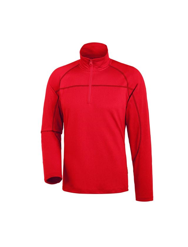 Shirts, Pullover & more: e.s. Troyer clima-pro + fiery red
