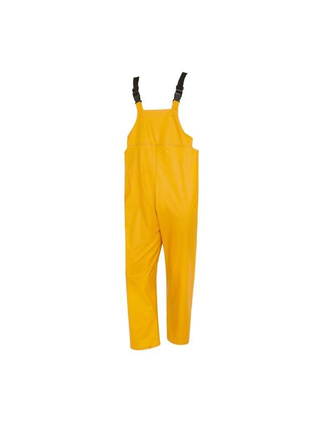 Arbejdsbukser: Flexi-stretch-overalls + gul