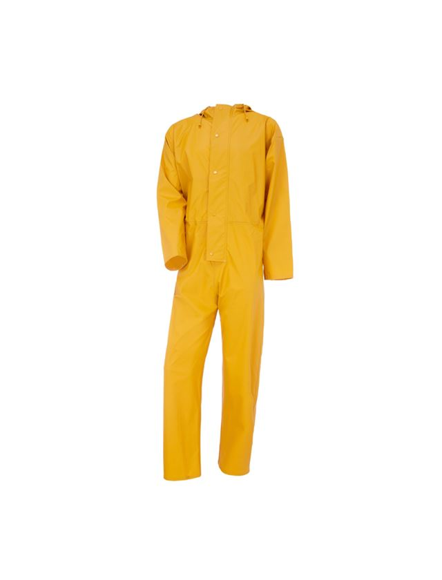 Overalls: Flexi-Stretch overall + yellow
