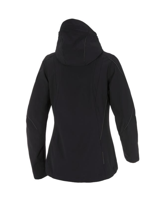 Work Jackets: Jacket e.s.vision stretch, ladies' + black 2