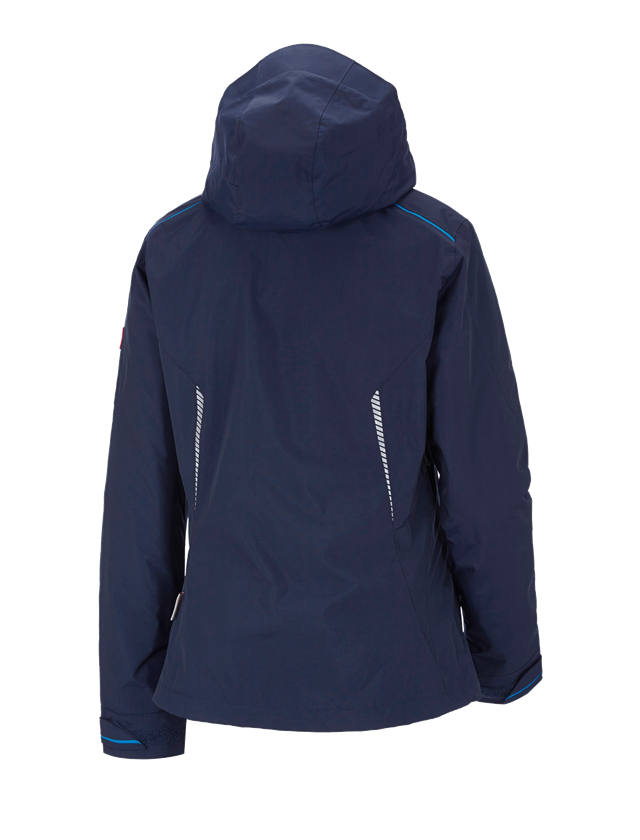 Work Jackets: 3 in 1 functional jacket e.s.motion 2020, ladies' + navy/atoll 2