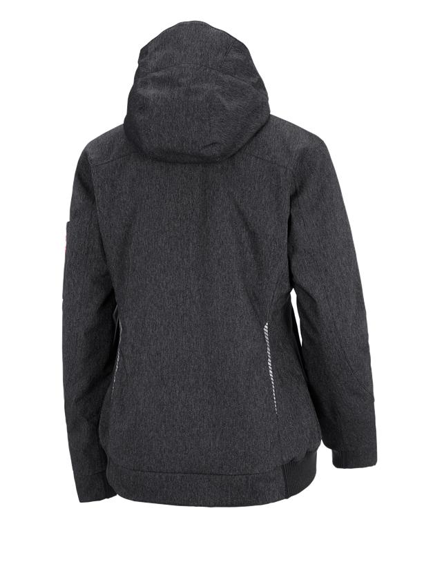 Work Jackets: Winter functional pilot jacket e.s.motion denim,la + graphite 1