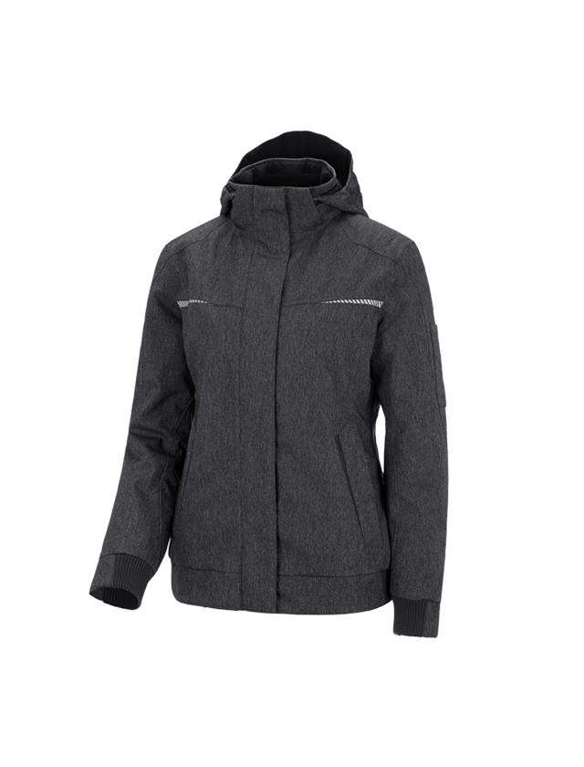 Work Jackets: Winter functional pilot jacket e.s.motion denim,la + graphite