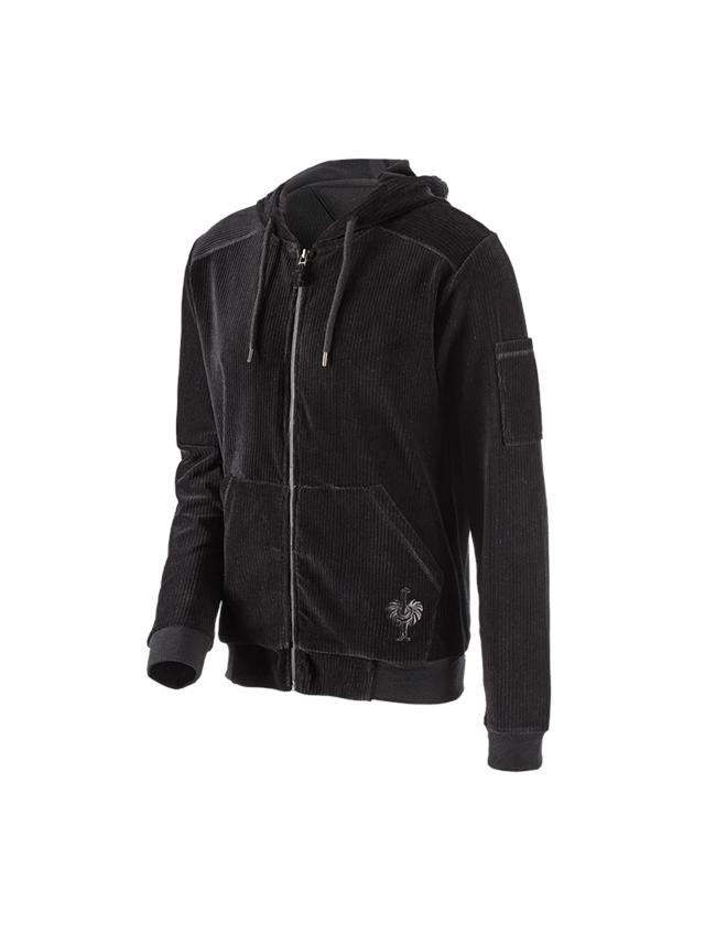 Accessories: e.s. homewear jakke + sort