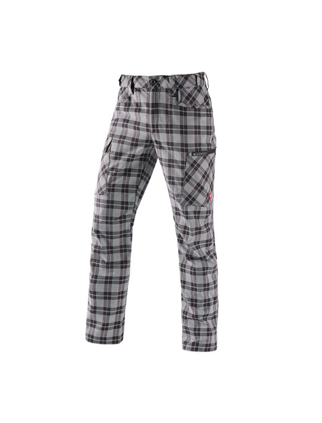 Arbejdsbukser: e.s. arbejdsbukser pocket, herrer + sort/hvid/rød