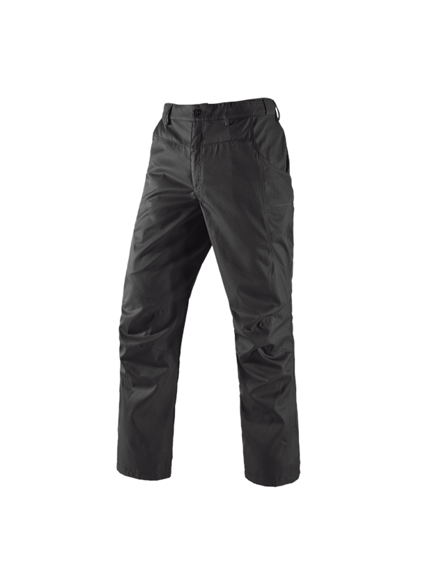Work Trousers: Service trousers  e.s.active + black