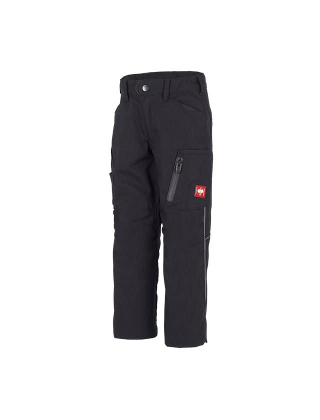 Trousers: Winter trousers e.s.vision, children's + black