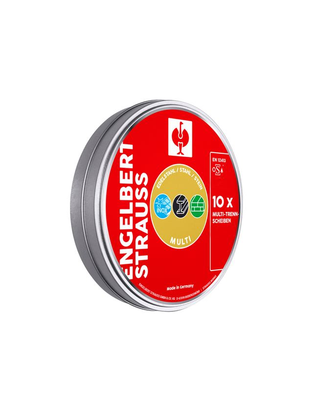 Cutting discs: e.s.Universal cutting disc multi Form 41,can of 10