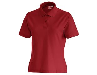 e.s. Polo shirt cotton, ladies'