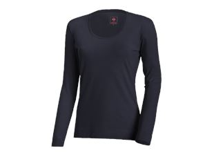e.s. Longsleeve cotton stretch, damer