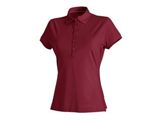 e.s. Polo-Shirt cotton stretch, damer