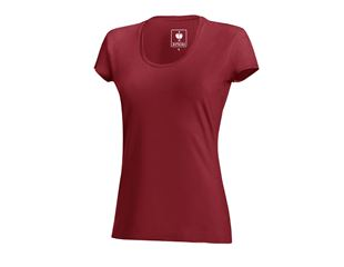 e.s. T-Shirt cotton stretch, damer