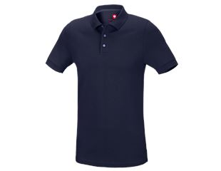 e.s. Pique-Polo cotton stretch, slim fit