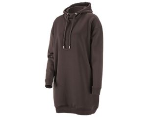 e.s. Oversize hoody sweatshirt poly cotton, damer