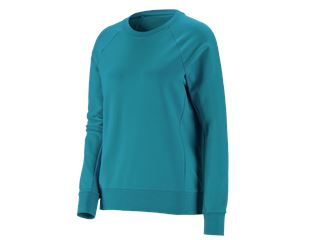 e.s. Sweatshirt cotton stretch, damer