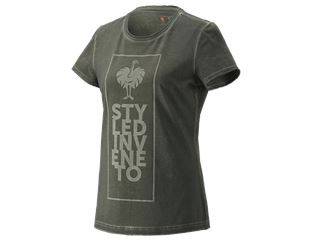 T-Shirt e.s.motion ten veneto, ladies'