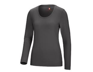 Long sleeve cotton stretch, ladies'